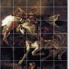 Delacroix Mythology Mural Tile Room Ideas Renovations Commercial