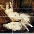 Delacroix Nudes Bathroom Tiles Mural Remodel Residential Ideas