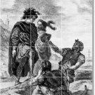 Delacroix Illustration Shower Tile Mural House Modern Remodel