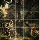 Delacroix Mythology Backsplash Mural Wall Design Modern Interior