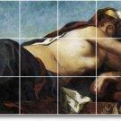 Delacroix Women Room Living Mural Tile Renovate Interior Decor
