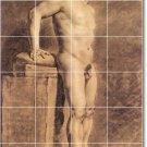 Delacroix Nudes Room Mural Living Tile Decor Renovate Interior