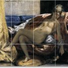Delacroix Nudes Tiles Living Room Design Home Idea Renovations