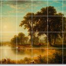 Durand Landscapes Floor Tiles Mural Room House Remodeling Design