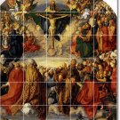 Durer Religious Bathroom Tile Wall Home Remodeling Design Idea