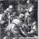 Durer Illustration Wall Dining Floor Room Murals Floor Design