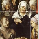 Durer Religious Mural Tile Bathroom Shower Renovate Ideas Home
