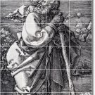 Durer Illustration Murals Bathroom Floor House Decorating Ideas
