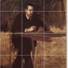 Eakins Men Tiles Room Living Mural Design Renovations House Idea