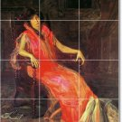 Eakins Women Tiles Kitchen Wall Mural Remodeling House Decorate