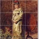 Eakins Women Room Wall Living Tiles Mural House Renovation Idea