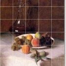 Fantin-Latour Fruit Vegetables Room Tile Renovate House Ideas