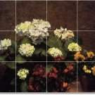 Fantin-Latour Flowers Bedroom Tile Wall Murals Renovate Ideas
