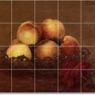 Fantin-Latour Fruit Vegetables Wall Murals Bathroom Shower Modern