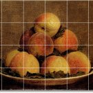 Fantin-Latour Fruit Vegetables Tiles Room Wall Dining Mural Floor