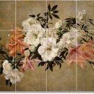 Fantin-Latour Flowers Tiles Room Ideas Commercial Remodeling