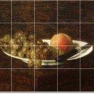 Fantin-Latour Fruit Vegetables Room Mural Modern House Decorating