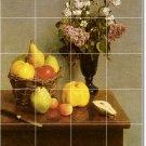 Fantin-Latour Fruit Vegetables Mural Room Modern Decorating House