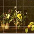 Fantin-Latour Flowers Tile Bedroom Mural Modern Construction