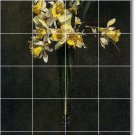 Fantin-Latour Flowers Tile Wall Murals Bedroom Ideas Remodel