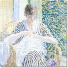 Frieseke Women Wall Dining Tile Room House Remodeling Design Idea
