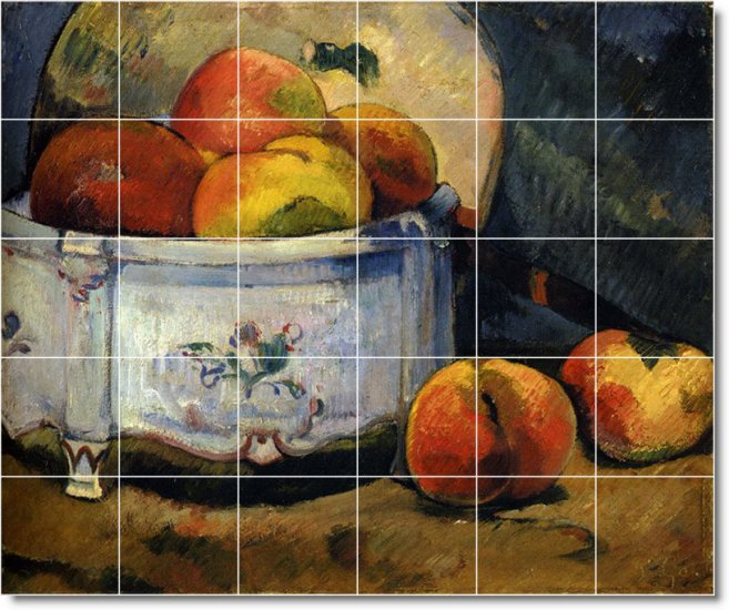 Kitchen Tiles Fruits Vegetables: Gauguin Fruit Vegetables Wall Murals Kitchen Wall Modern
