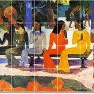 Gauguin Women Room Wall Floor Murals House Renovate Traditional