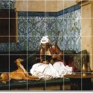 Gerome Animals Dining Wall Tiles Room Renovation Home Traditional