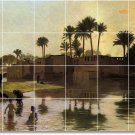 Gerome Waterfront Wall Tiles Shower Mural Decor Remodel Interior