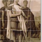 Gerome Historical Tiles Mural Backsplash Modern Decorating House