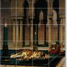 Gerome Animals Dining Mural Room Tile House Decorate Construction