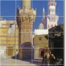Gerome City Mural Dining Tile Wall Room Ideas Home Construction