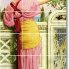 Godward Women Room Tile Mural Wall House Traditional Decorating