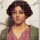 Godward Women Wall Room Tile Mural Decorating Traditional House