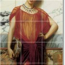 Godward Women Backsplash Kitchen Tiles Mural Wall Design Modern