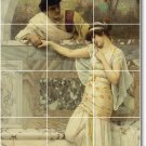 Godward Men Women Mural Tiles Bathroom Ideas Residential Remodel