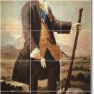 Goya Men Backsplash Mural Tile Kitchen Home Renovations Design
