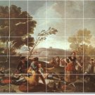 Goya People Wall Mural Shower Wall Bathroom Renovate Home Ideas