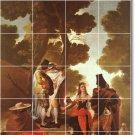Goya Historical Tiles Mural Shower Renovation Interior Modern