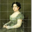 Goya Women Tiles Kitchen Mural Backsplash Wall Floor Decor Decor