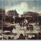 Goya Horses Wall Shower Bathroom Tiles Mural Ideas Construction