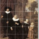 Hals People Murals Room Tile Wall Traditional Renovate Interior