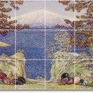 Hassam Landscapes Room Living Tile Mural Interior Decor Renovate