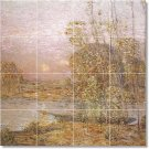 Hassam Country Murals Wall Tile Room Dining Remodeling Idea House
