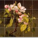 Heade Flowers Floor Mural Bedroom Wall Modern Renovation House