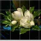 Heade Flowers Wall Bedroom Mural Floor Renovation Modern House