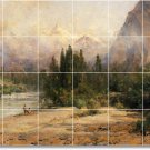Hill Landscapes Backsplash Mural Tile Kitchen Art Residential