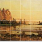 Hill Landscapes Tile Room Mural Dining House Remodeling Ideas