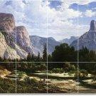 Hill Landscapes Murals Tile Room Idea Design Home Renovations