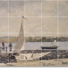Homer Waterfront Mural Floor Kitchen Decorate House Construction